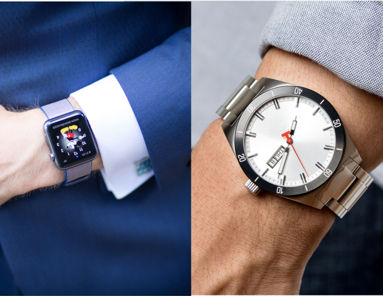 5 Reasons Why Traditional Watches are Better than a Smart Watch
