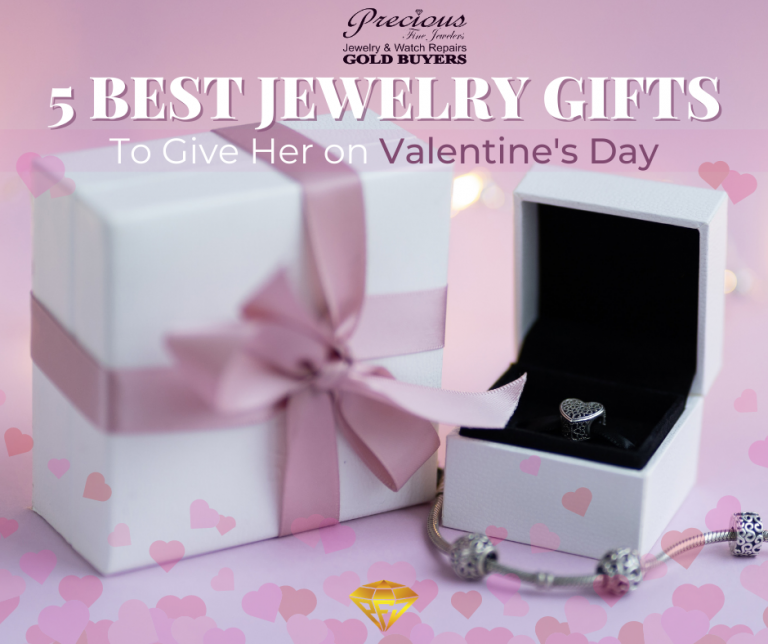5 Best Jewelry Gifts to Give Her on Valentines Day